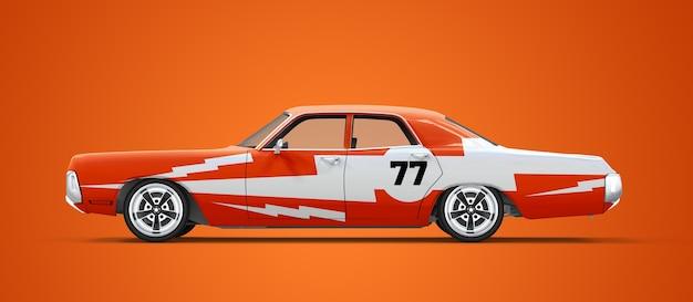 Maquette d'une voiture vintage générique