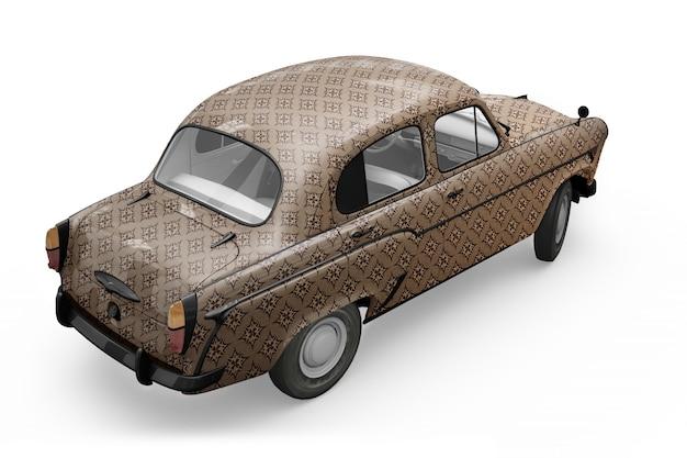 Maquette de voiture vintage