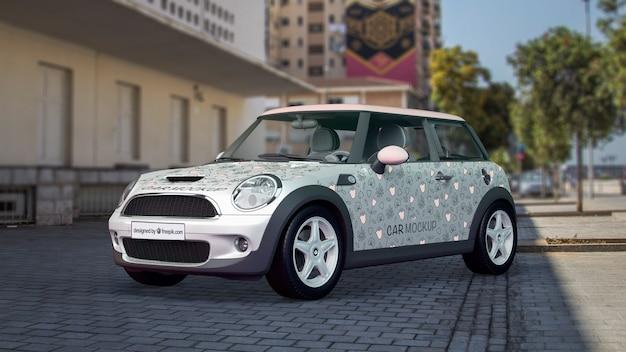 Maquette de voiture