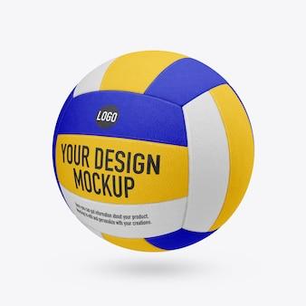 Maquette de volley-ball isolée