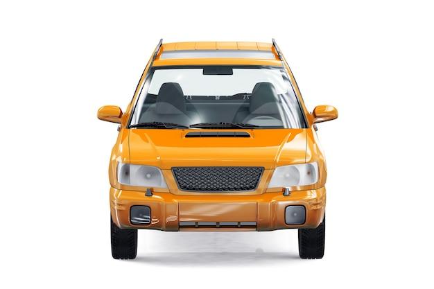 Maquette wagon combi car 2000