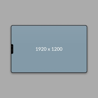 Maquette web paysage minimal