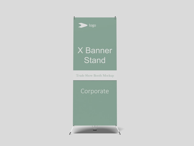 Maquette x-banner