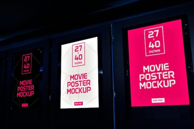 Maquettes d'affiche de film v1 2