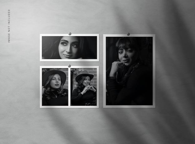 Maquettes de cadre photo
