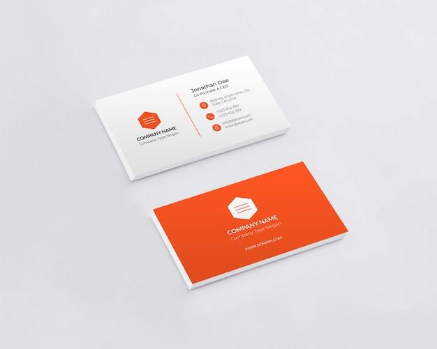 Maquettes de cartes de visite