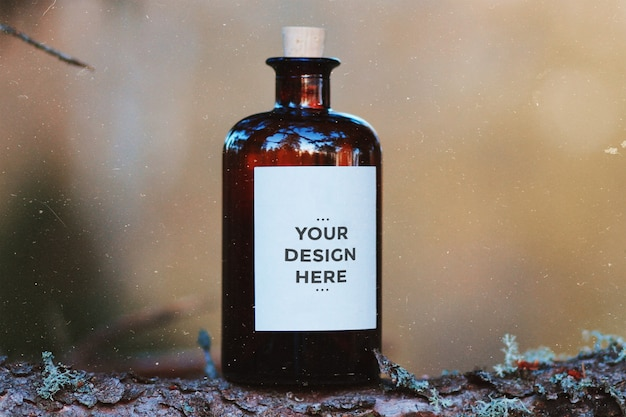Maquettes d'étiquettes de produits
