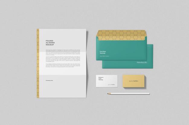 Maquettes de marque minimalistes