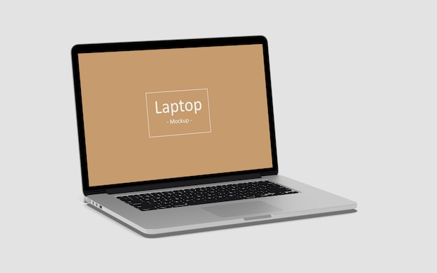 Maquettes d'ordinateur portable
