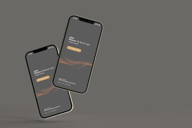 Maquettes de téléphone intelligent