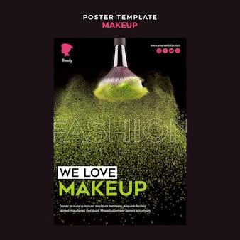 Maquillage thème de l'affiche