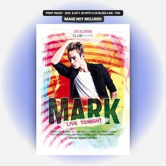 Mark party night