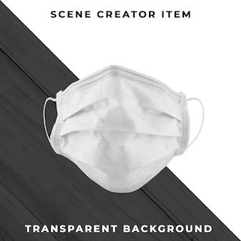 Masque isolé avec un tracé de détourage