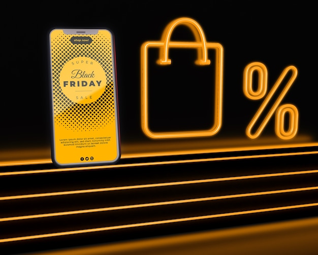 Mega réductions disponibles le vendredi noir