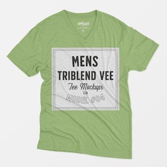 Mens triblend maquette tee-shirt 04