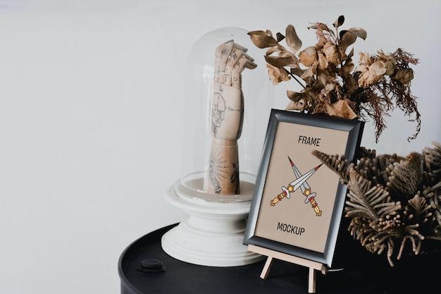 Mini maquette de cadre