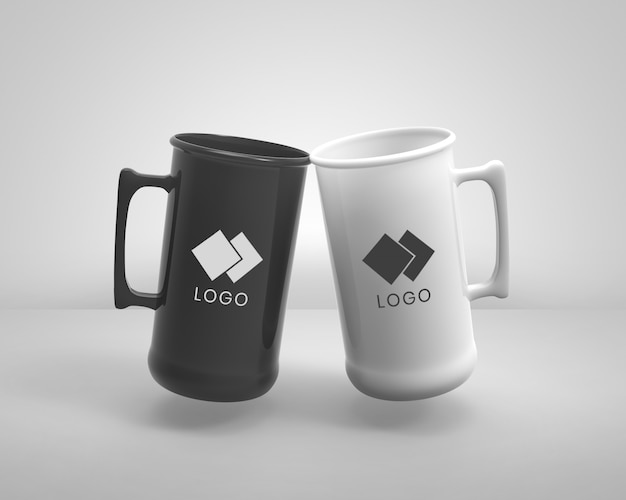 Mock up mugs