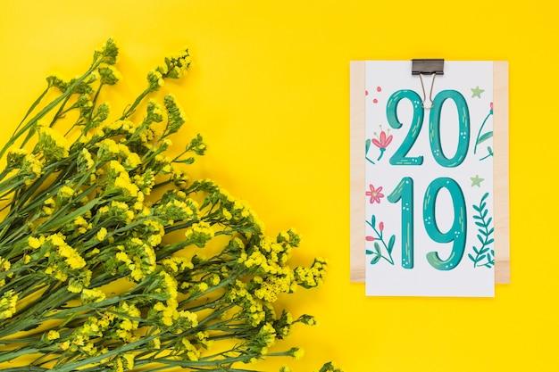 Mocku floral presse-papiers
