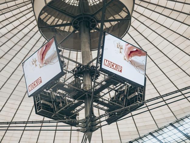 Mockup big billboard