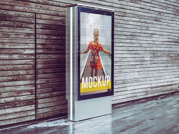 Mockup billboard