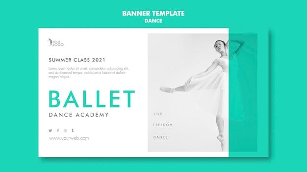Modèle d'académie de danse