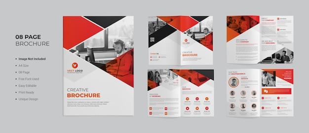 Modèle de brochure de création