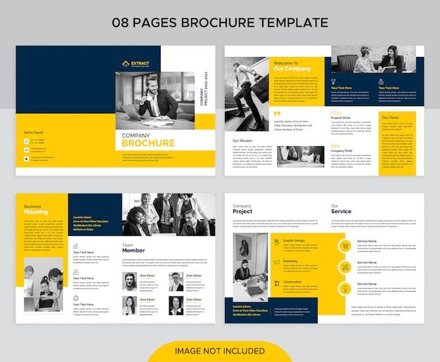Modèle de brochure de entreprise