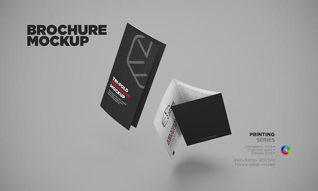 Modèle de brochure à trois volets modifiable