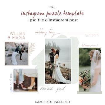 Modèle de carte mariage aquarelle et invitation florale