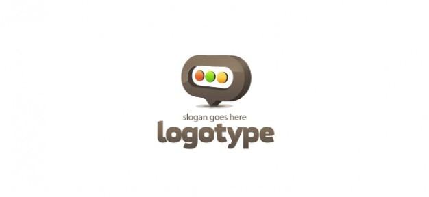 Modèle de conception de blog logo
