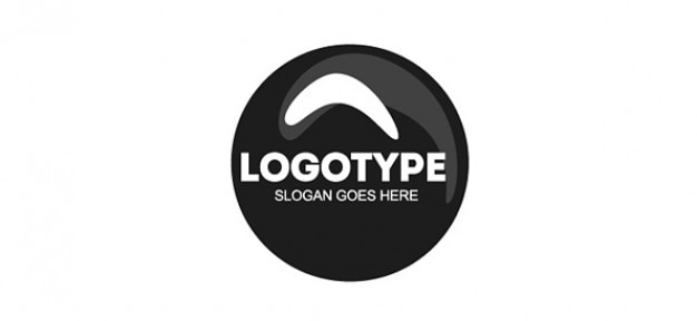 Modèle de conception de cercle logo