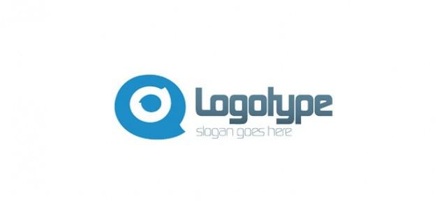 Modèle de conception de logo pour le blog