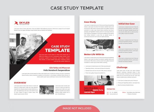 Modèle d'étude de cas