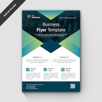 Modèle de flyer de création d'entreprise