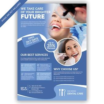Modèle de flyer de dentiste