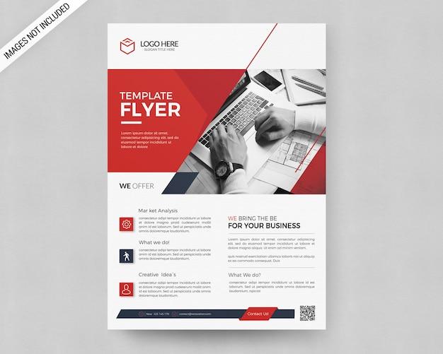 Modèle de flyer de entreprise