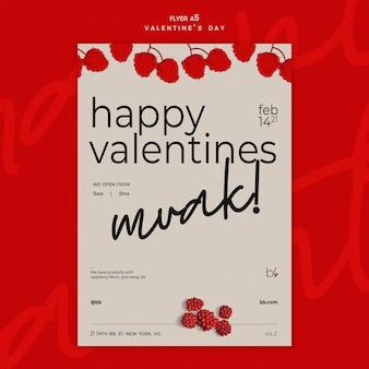 Modèle De Flyer Saint Valentin Psd gratuit