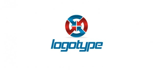 Modèle gratuit logo adapté pour les entreprises de communication
