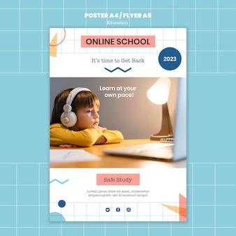 Modèle d'impression scolaire en ligne