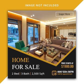 Modèle instagram immobilier