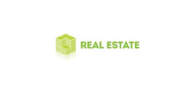 Modèle de logo d pour l'immobilier