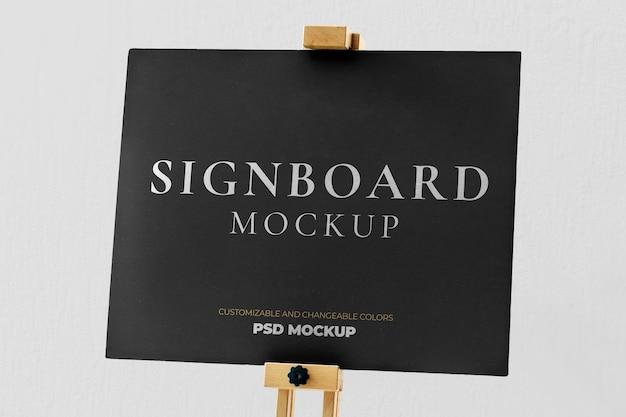 Modèle de maquette d'affiche de promotion d'annonce marketing