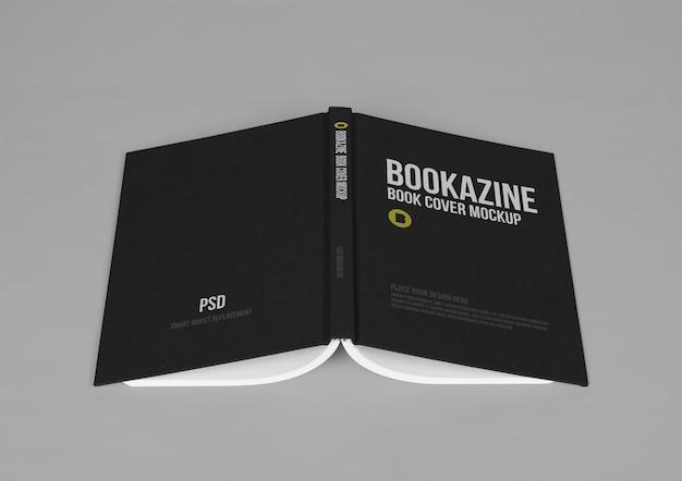 Modèle de maquette de couverture de livre dur