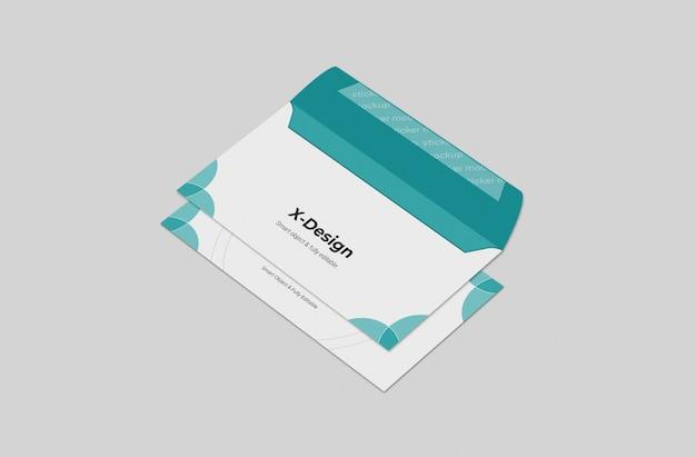 Modèle de maquette d'enveloppe