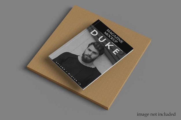 Modèle de maquette de magazine a4 psd premium
