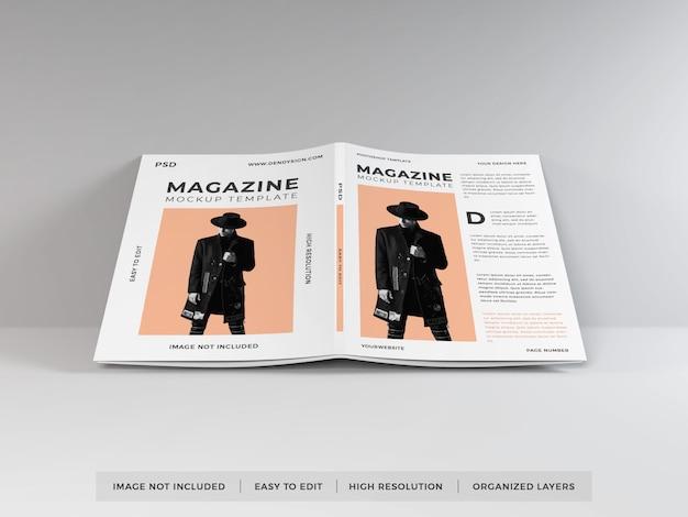 Modèle de maquette de magazine réaliste