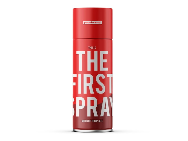 Modèle de maquette de spray déodorant