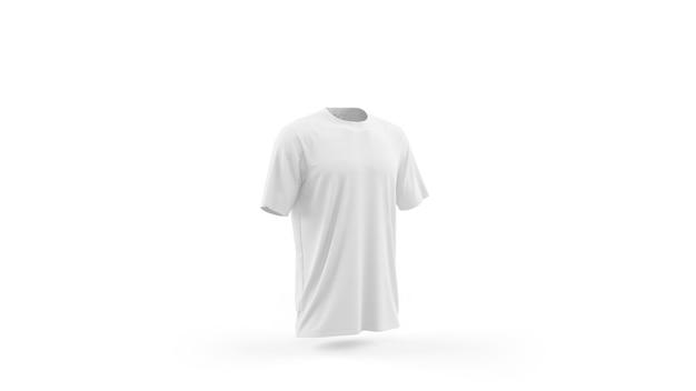 Modèle de maquette de t-shirt blanc isolé, vue de face