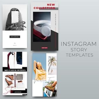 Modèle de média social instagram story