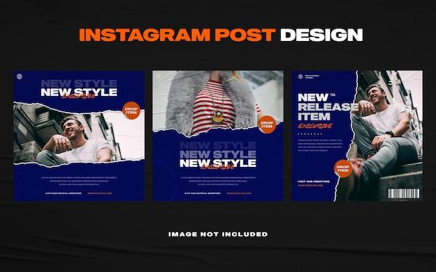 Modèle de publication de bannière de médias sociaux de meubles